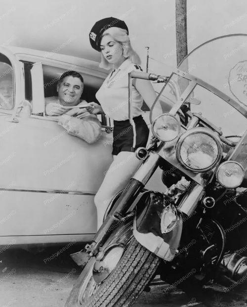 3 Jayne Mansfield posed as a motorcycle cop.JPG