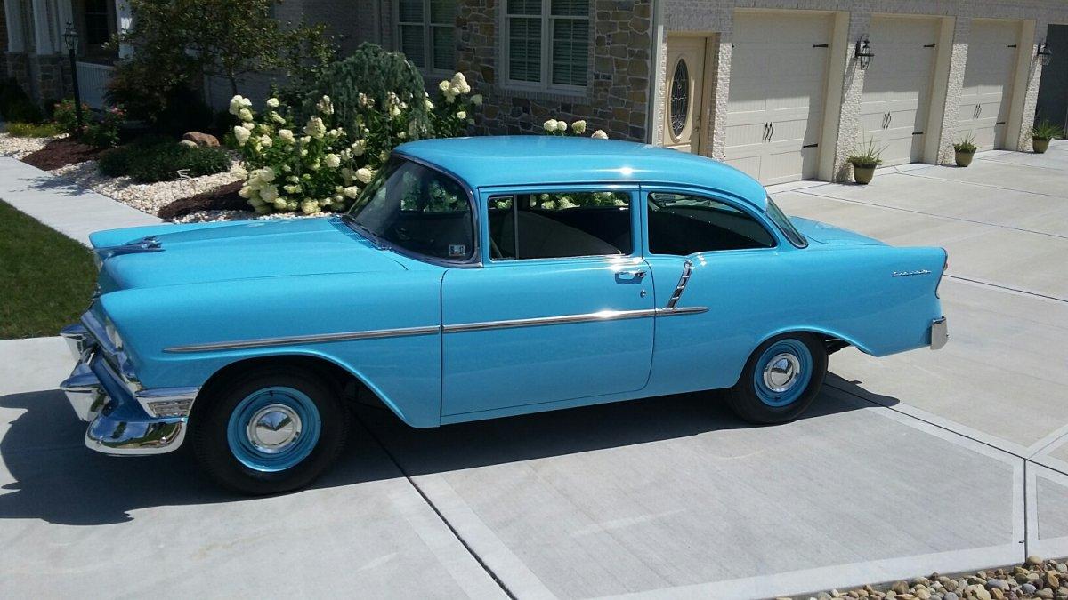 1956 Chevy Model 150 2dr Utility Sedan The H A M B