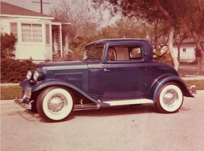 31 Art Lehner's well known Blue Indigo Coupe.JPG