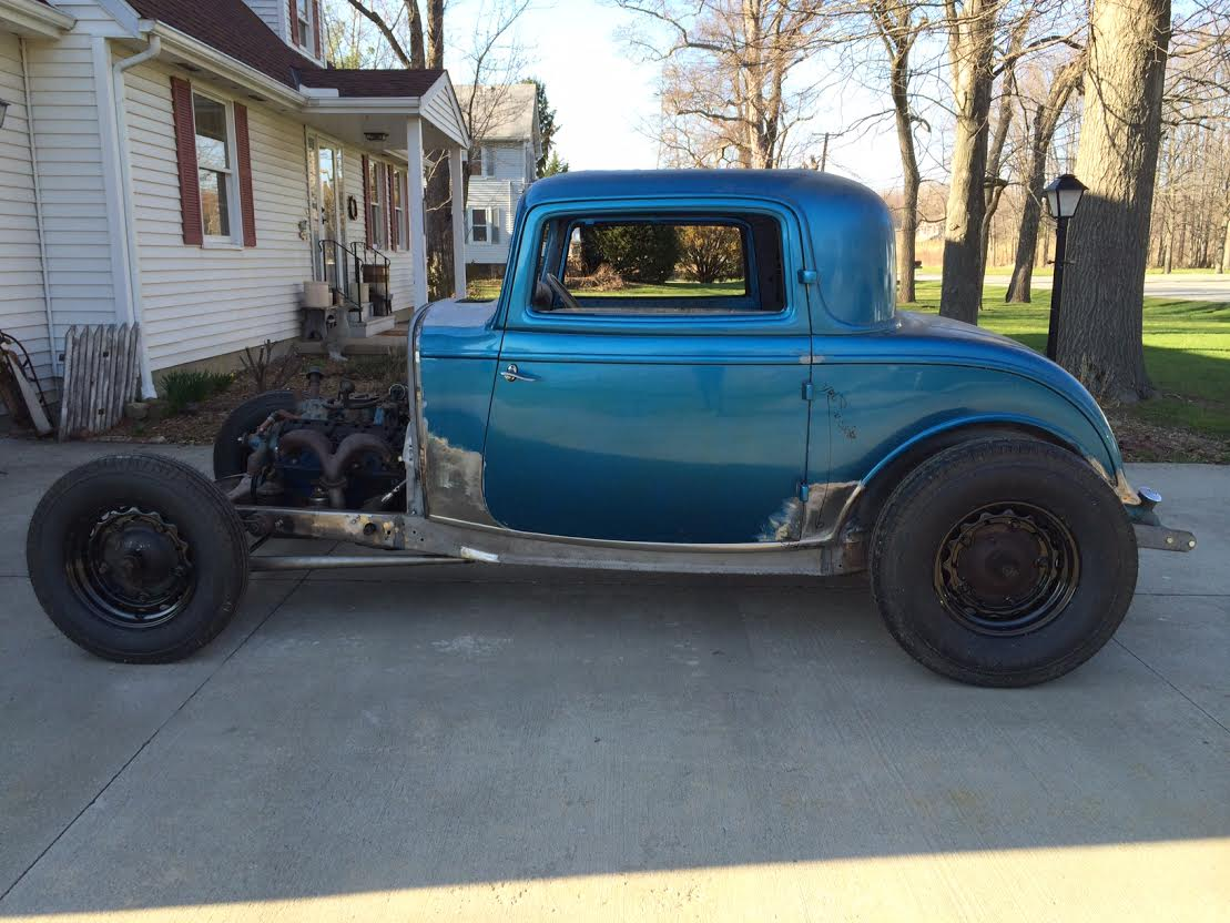 Wtt 1932 ford 3 window coupe original henry updated for 1932 ford three window coupe for sale
