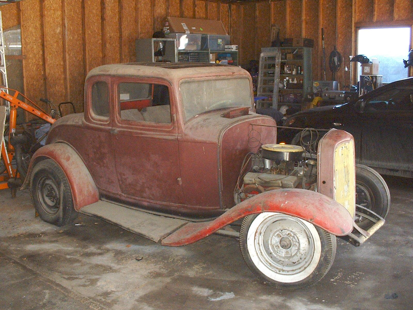 Projects My 32 Ford Coupe Found It S Way Back Home After 56 Years