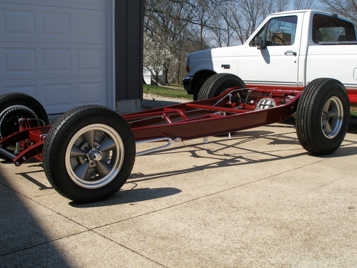 32 sedan project - painted chassis 005.JPG