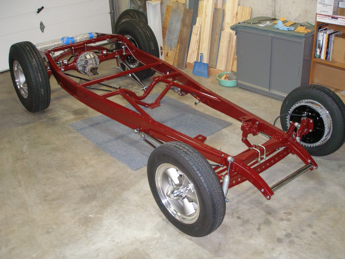 32 sedan project - painted chassis 014.JPG