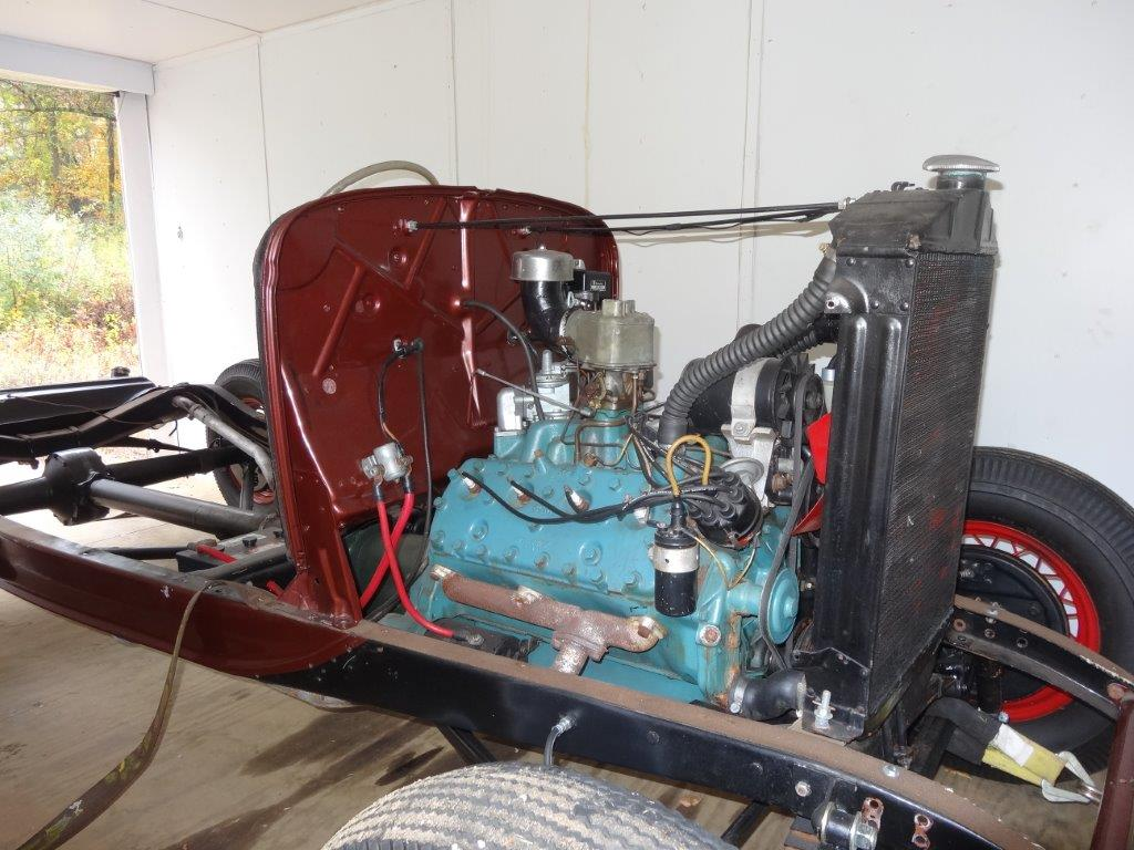 1932 Ford complete chassis- 1950 hot-rod version- old school build ...