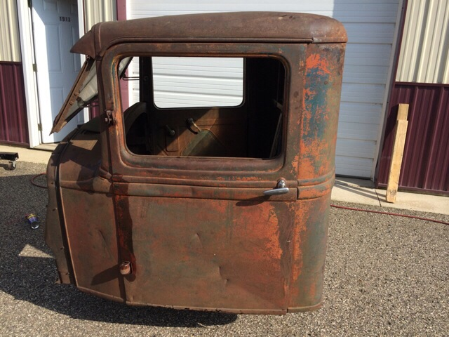 1933 Ford Pickup Cab With Doors Hood Grill Shell