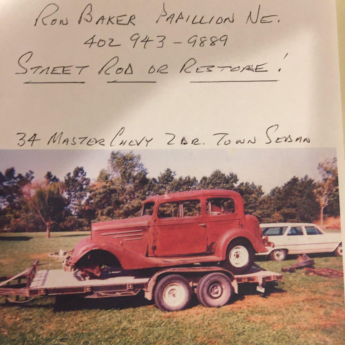 1934 CHEVY MASTER TOWN SEDAN | The H A M B