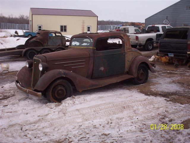 1935 Chevy Coupe Parts For Sale