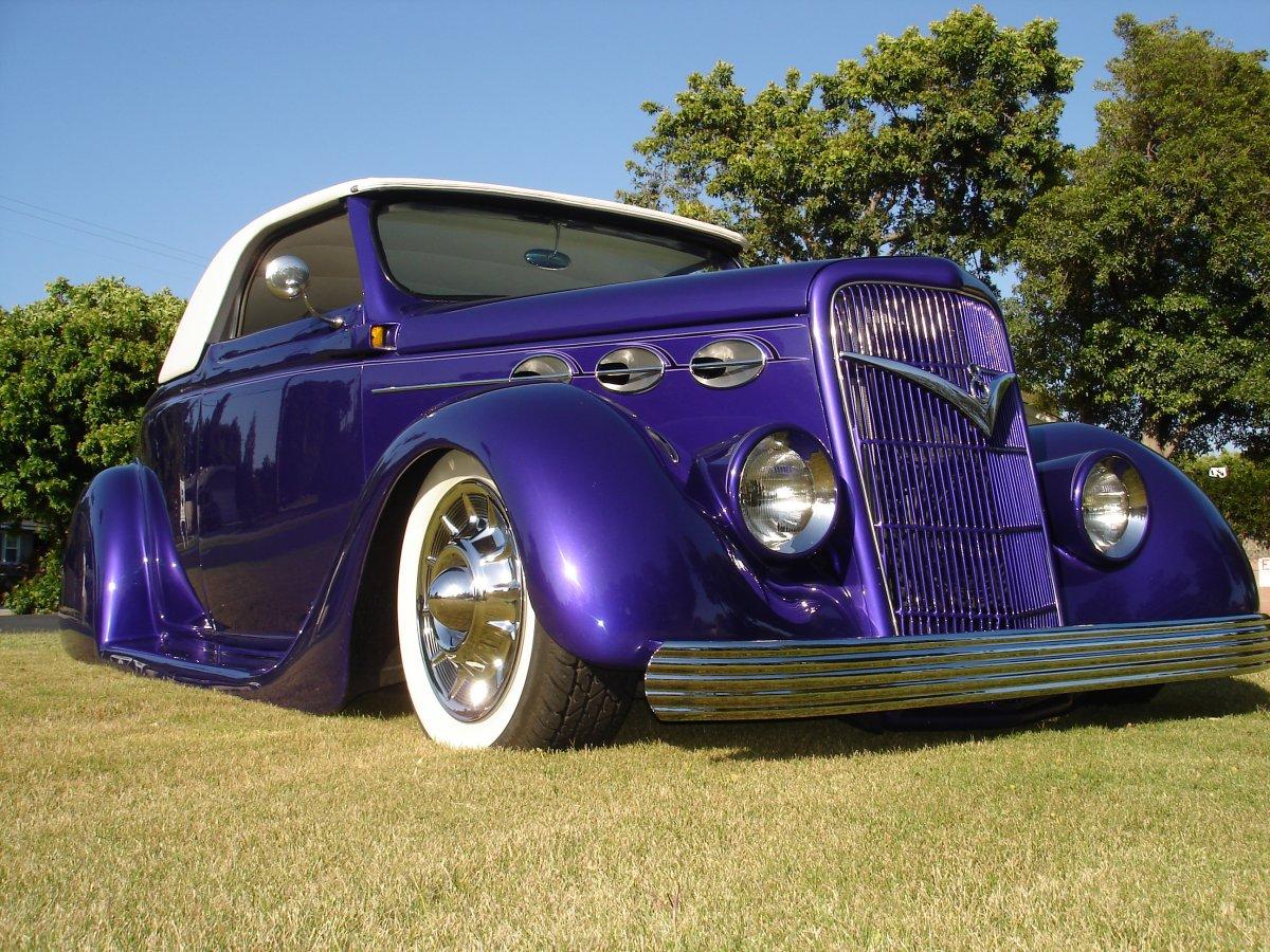 1935 Ford Kustom - El Morado - For Sale!   The H.A.M.B.