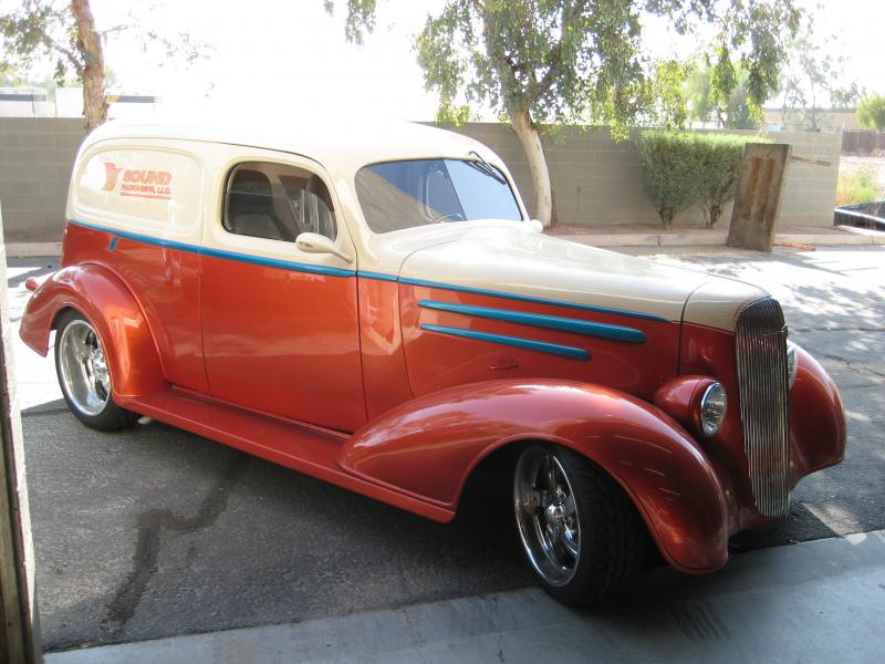 Projects - 1950 Chopped Chevy Sedan Delivery | Page 9 | The H A M B