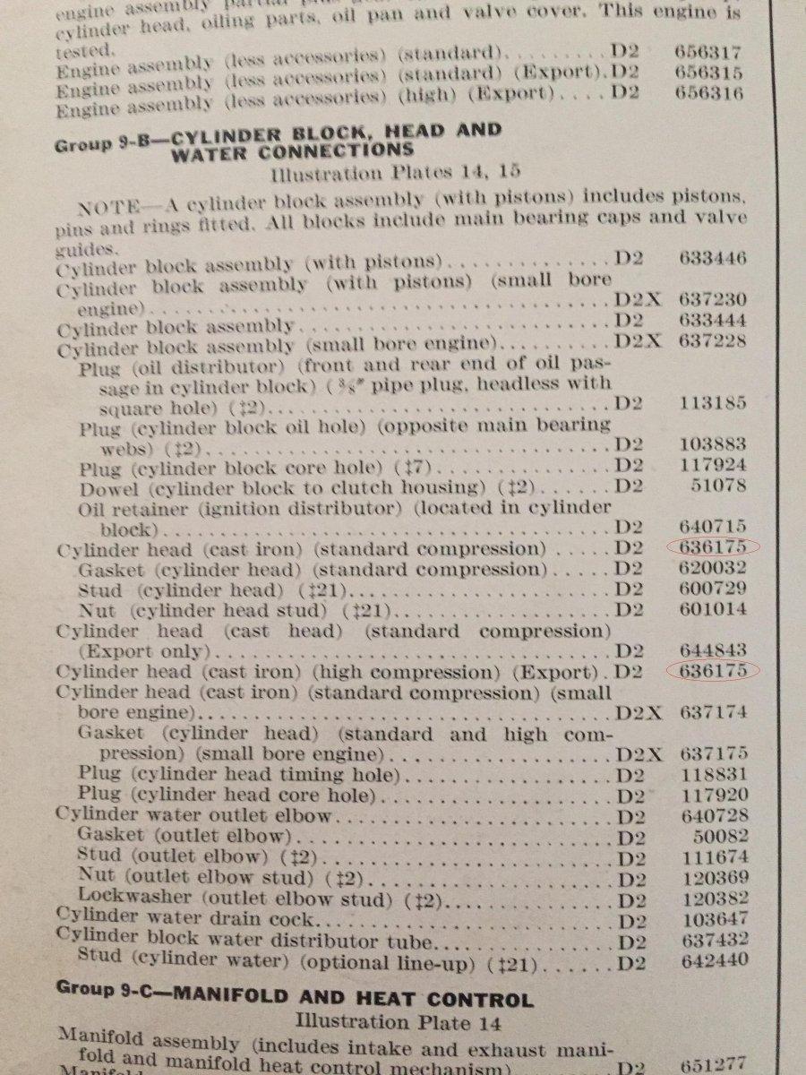 Technical - Help Identifying MOPAR Flathead 6 In My 1936 Dodge   The