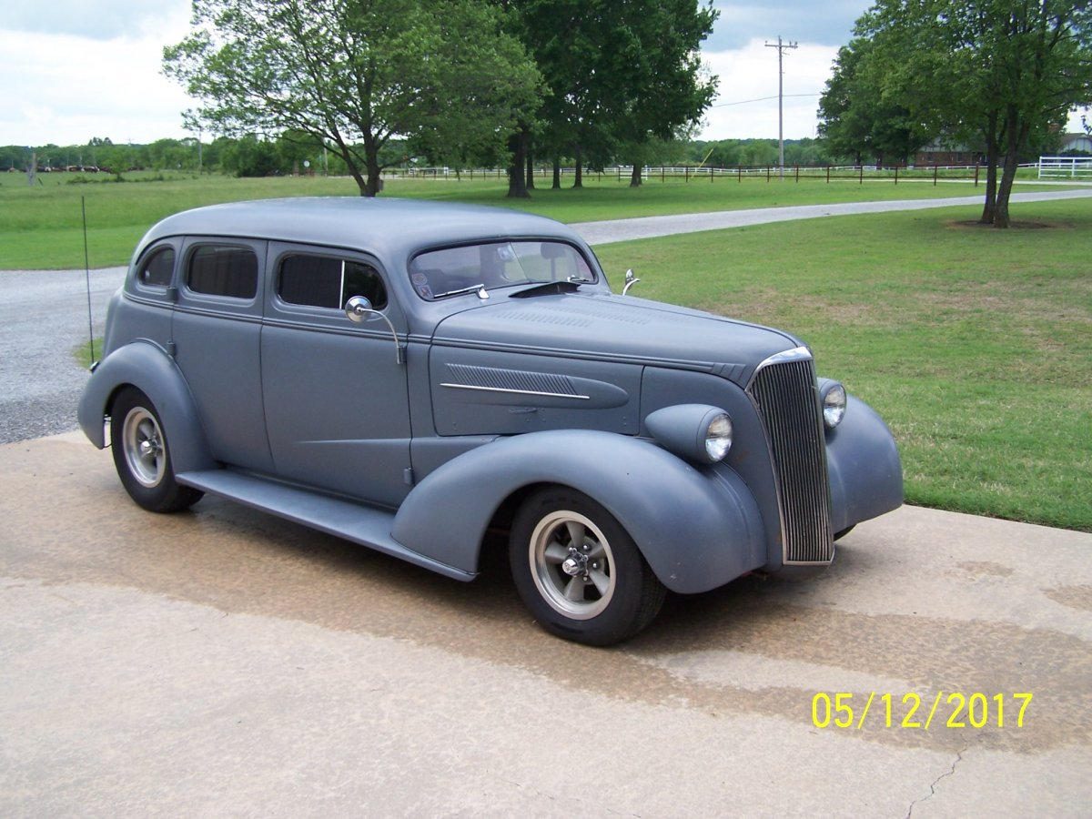 H And H Chevrolet >> 37 Chevy 4dr chop top sedan | The H.A.M.B.