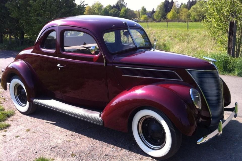 1937 Ford Coupe Flathead V8 Hot Rod The H A M B