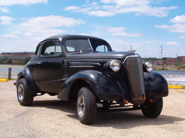 Projects - My first project: 1937 Chevy Coupe | The H.A.M.B.
