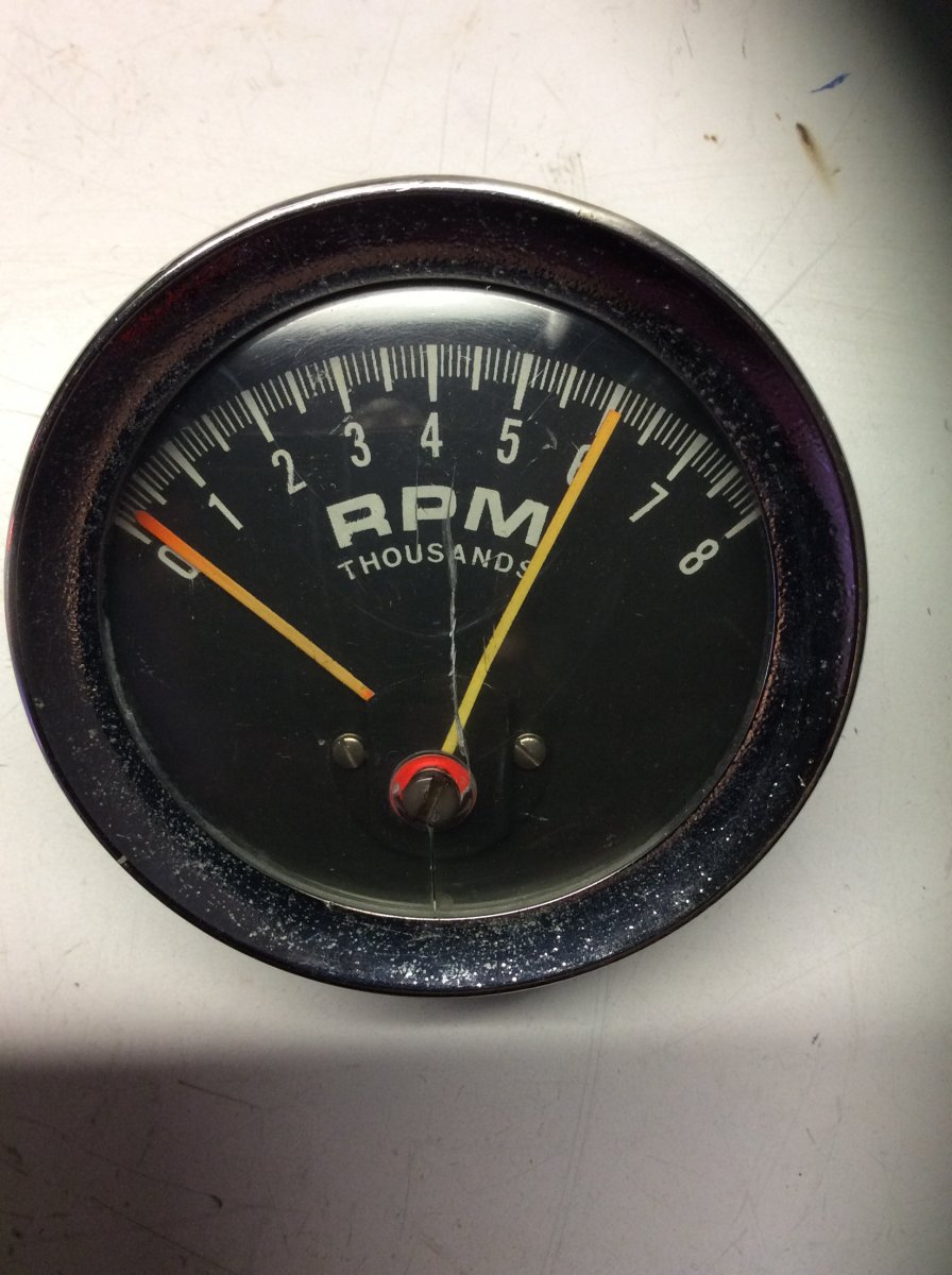 technical mystery tach info needed  the h a m b Autogage Tach Wiring Diagram