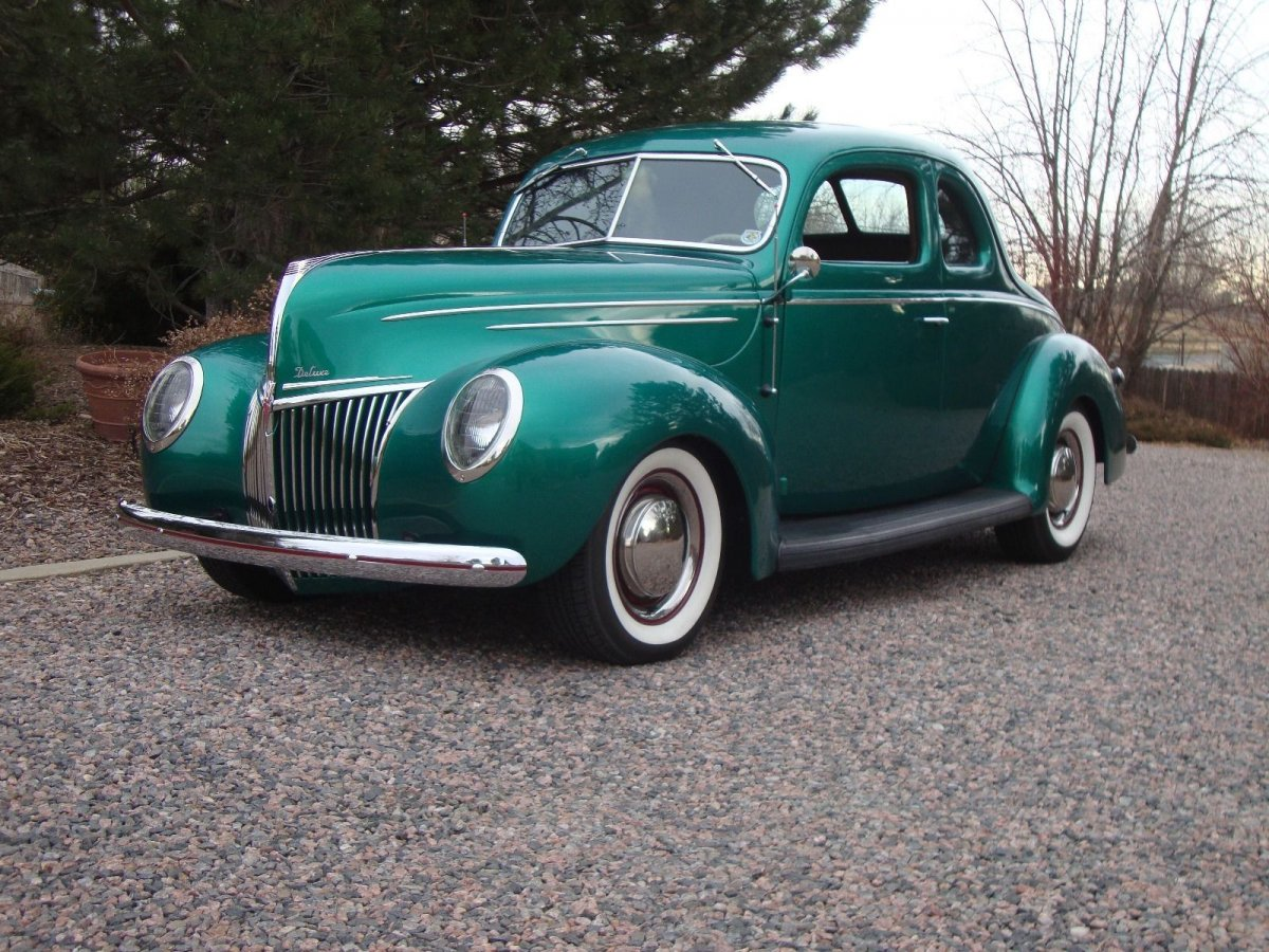 1939 Ford Coupe Old School Cadillac Lasalle Beautiful The 1951 Hot Rod 39frontquarter