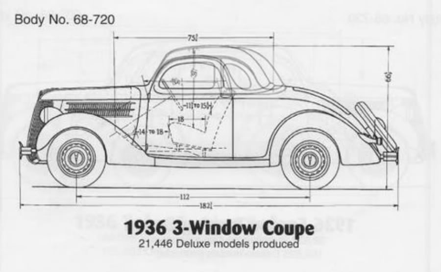 Projects Screw It Im Gonna Go For It 36 Ford Coupe To