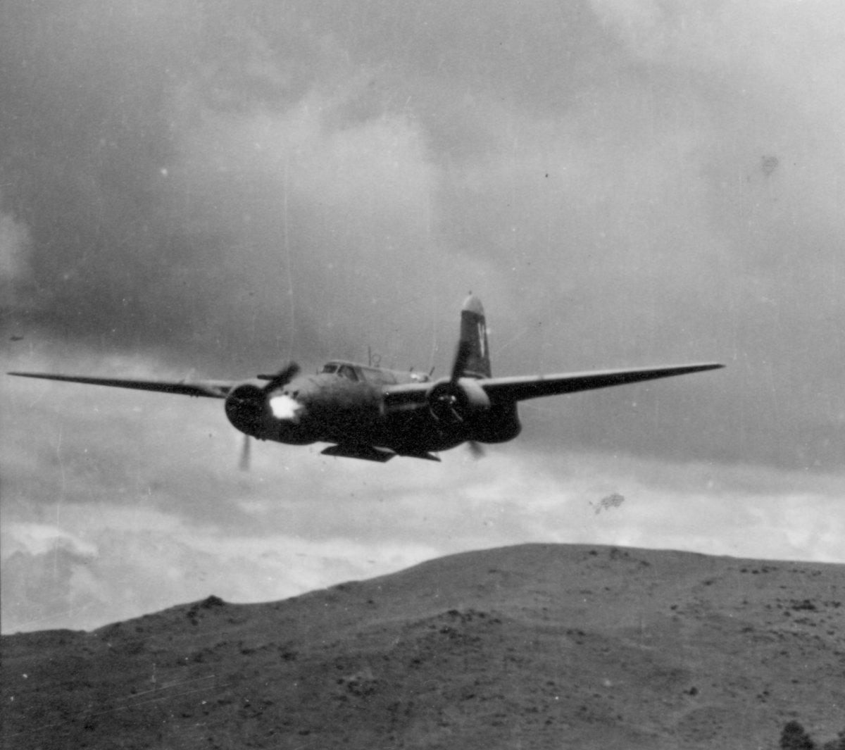 4 - Hollandia 90th Squadron A-20 - Robert Speith Collection Closeup.jpg