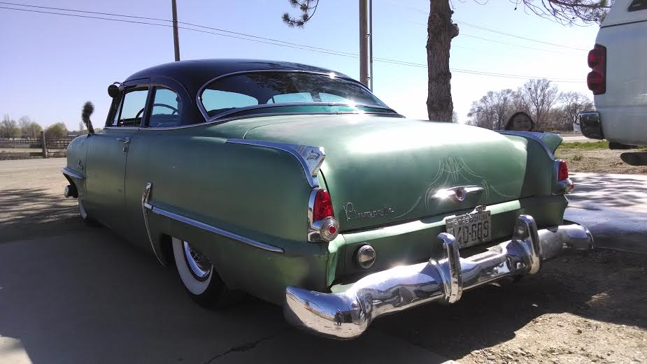 54 Plymouth Choptop Sold The H A M B