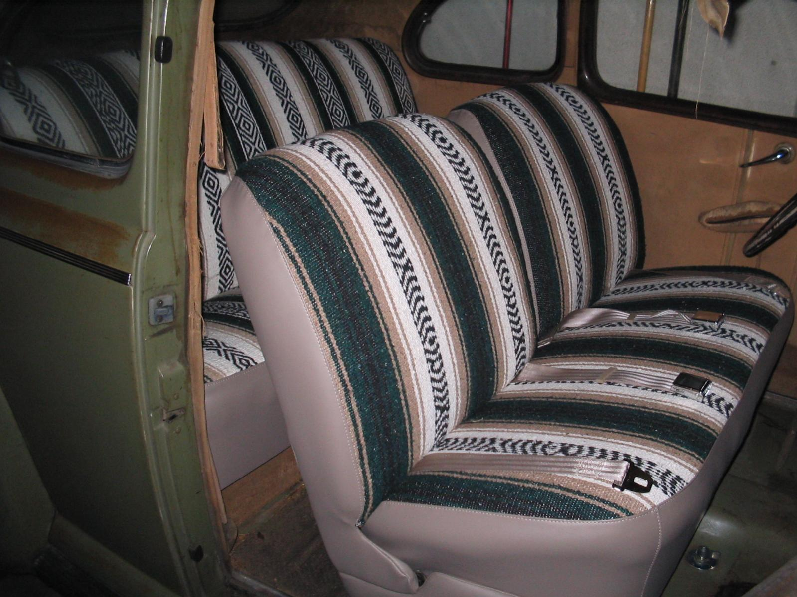Hot Rods Mexican Blanket Pic Thread Page 3 The H A M B Saddle Custom Seat Covers