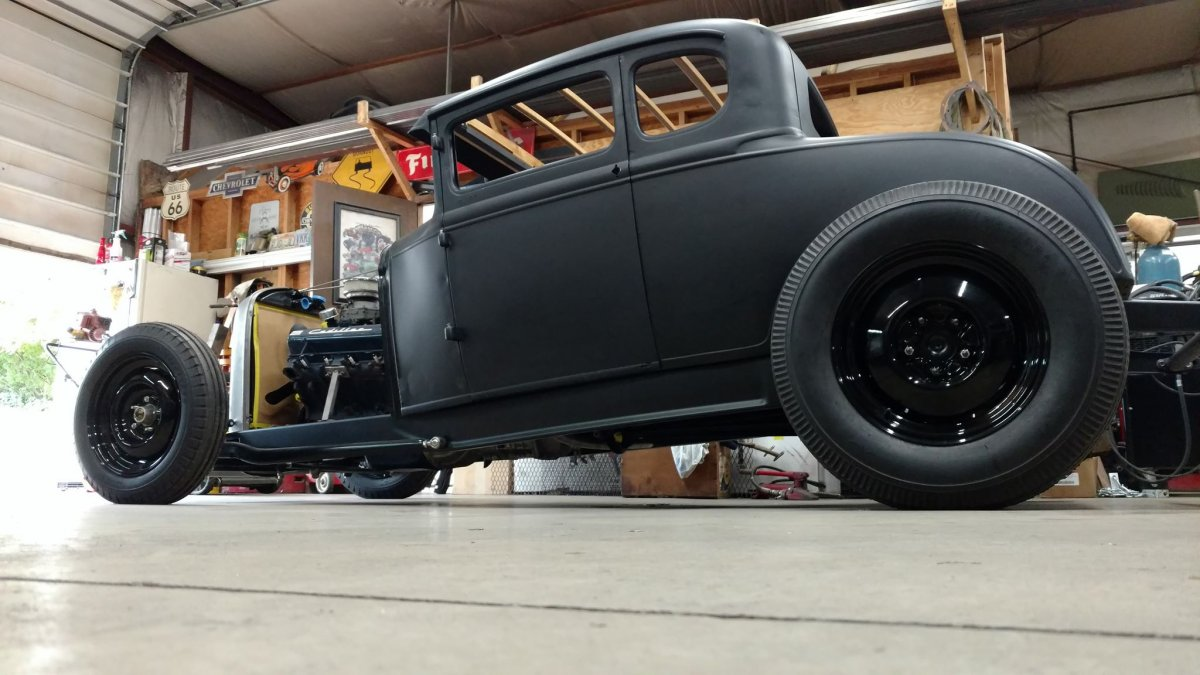 Steadfast 1931 Ford Model A Coupe Hot Rod Street Rod