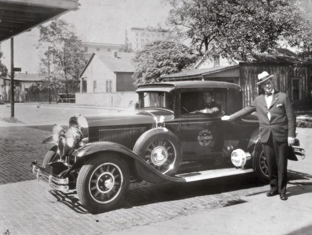 45 Alexandria Fire Department Chief's Car (circa 1930).jpg