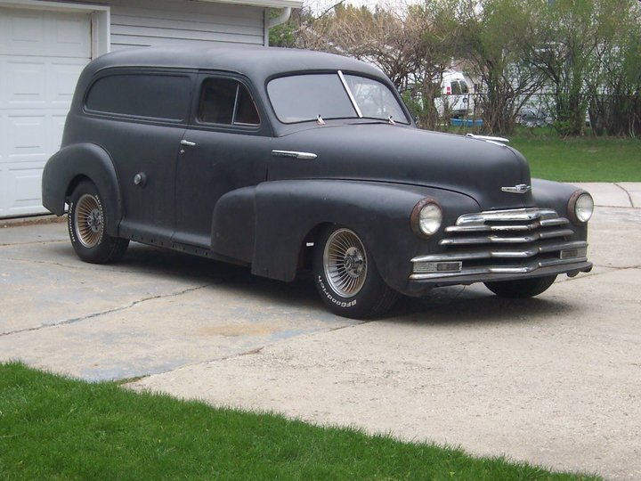 1947 Chevy Sedan Delivery Project Car