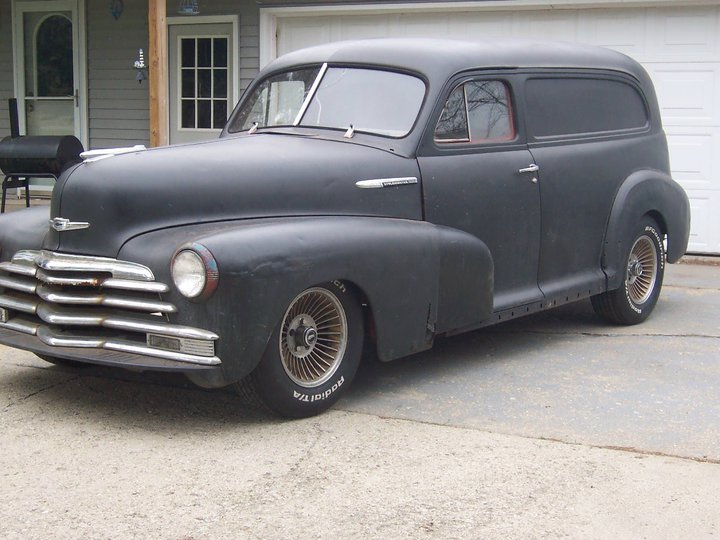 1947 Chevy Sedan Delivery Project Car   The H.A.M.B.