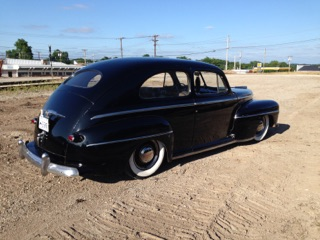 1947 ford super deluxe tudor sedan surviour with updated Ford Super Deluxe Sedan Coupe 47c 47a