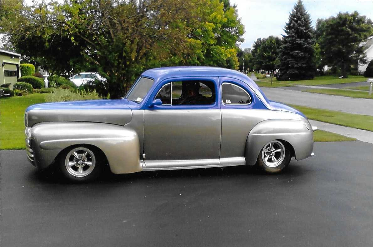 1948 Ford Coupe Street Rod   The H A M B