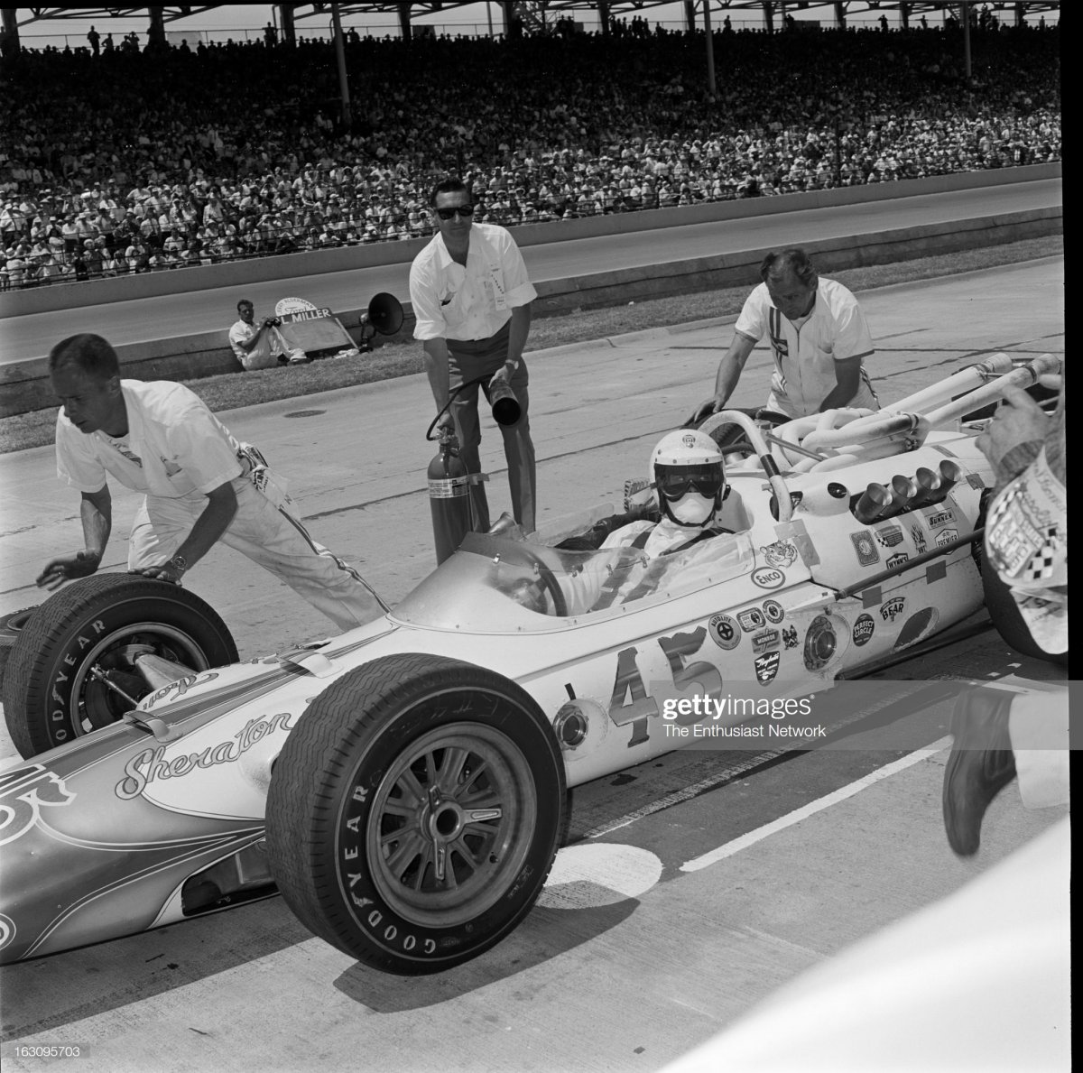 49  1965 Indianapolis 500. Al Unser of the Ansted-Th.jpg