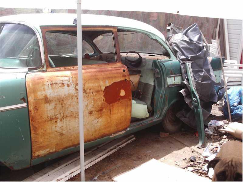 4dconv 008.jpg & Unkieu0027s 57 Chevy 4 Door to 2 Door Conversion | The H.A.M.B.