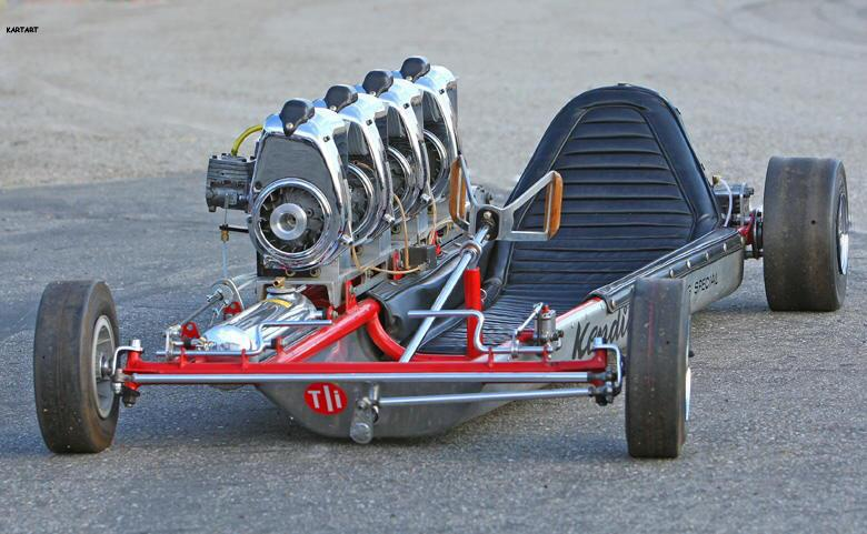 Projects - (PROJECT) old skool twin-engine Rupp kart build...with a ...