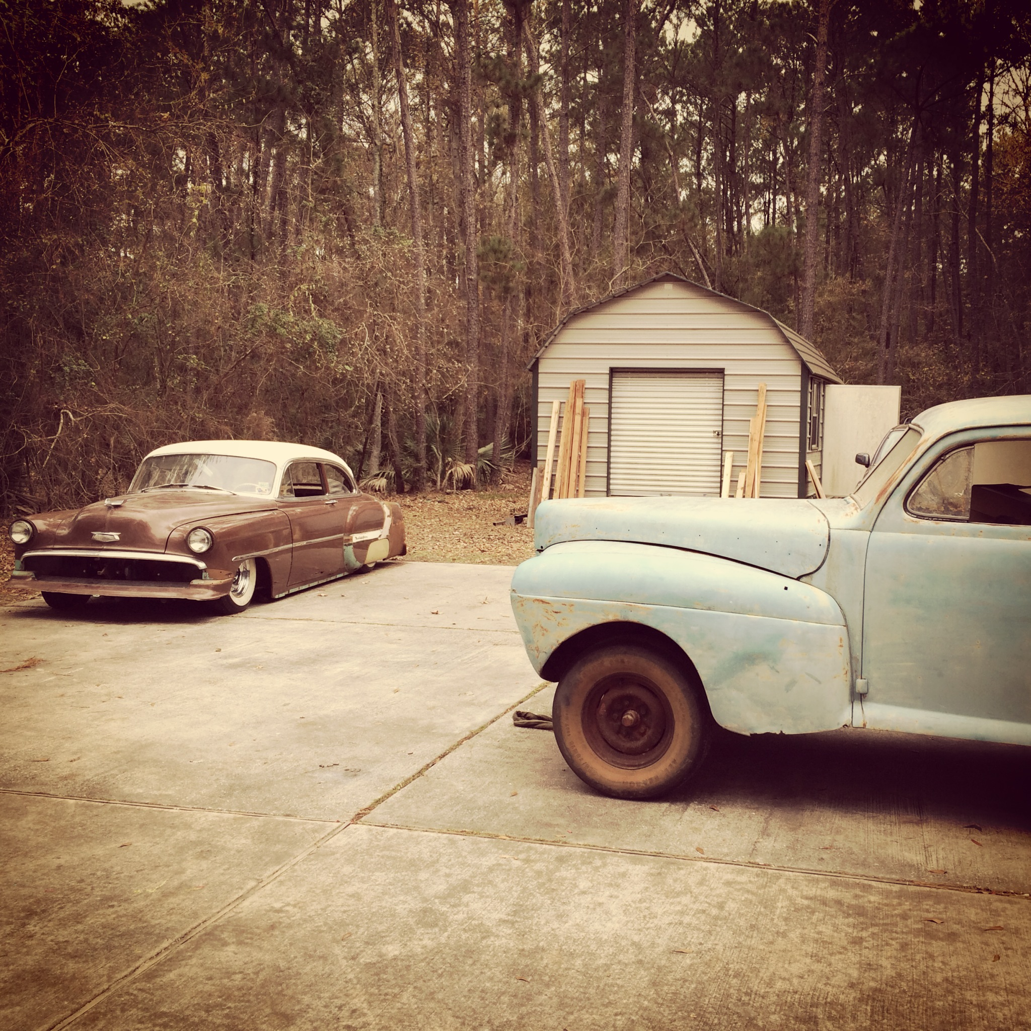 1954 Chevy Belair Kustom   The H.A.M.B.