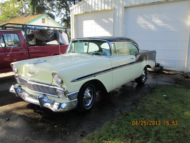 4th car - 1956 Chevrolet Belair.JPG