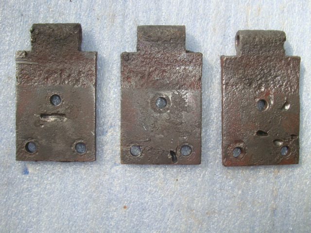 1932 1934 ford truck door hinges cowl half the h a m b for 1932 ford door hinges