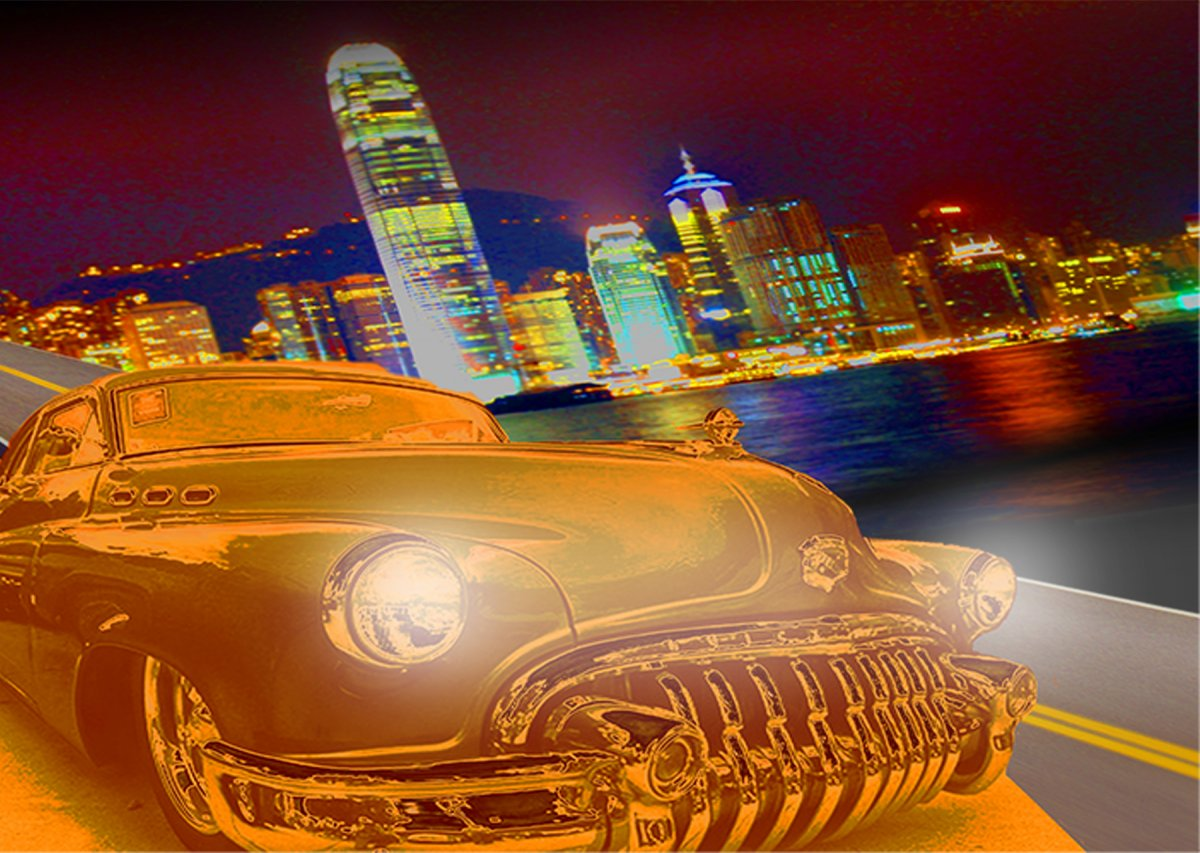50 BUICK AND CITYSCAPE POSTER.jpg