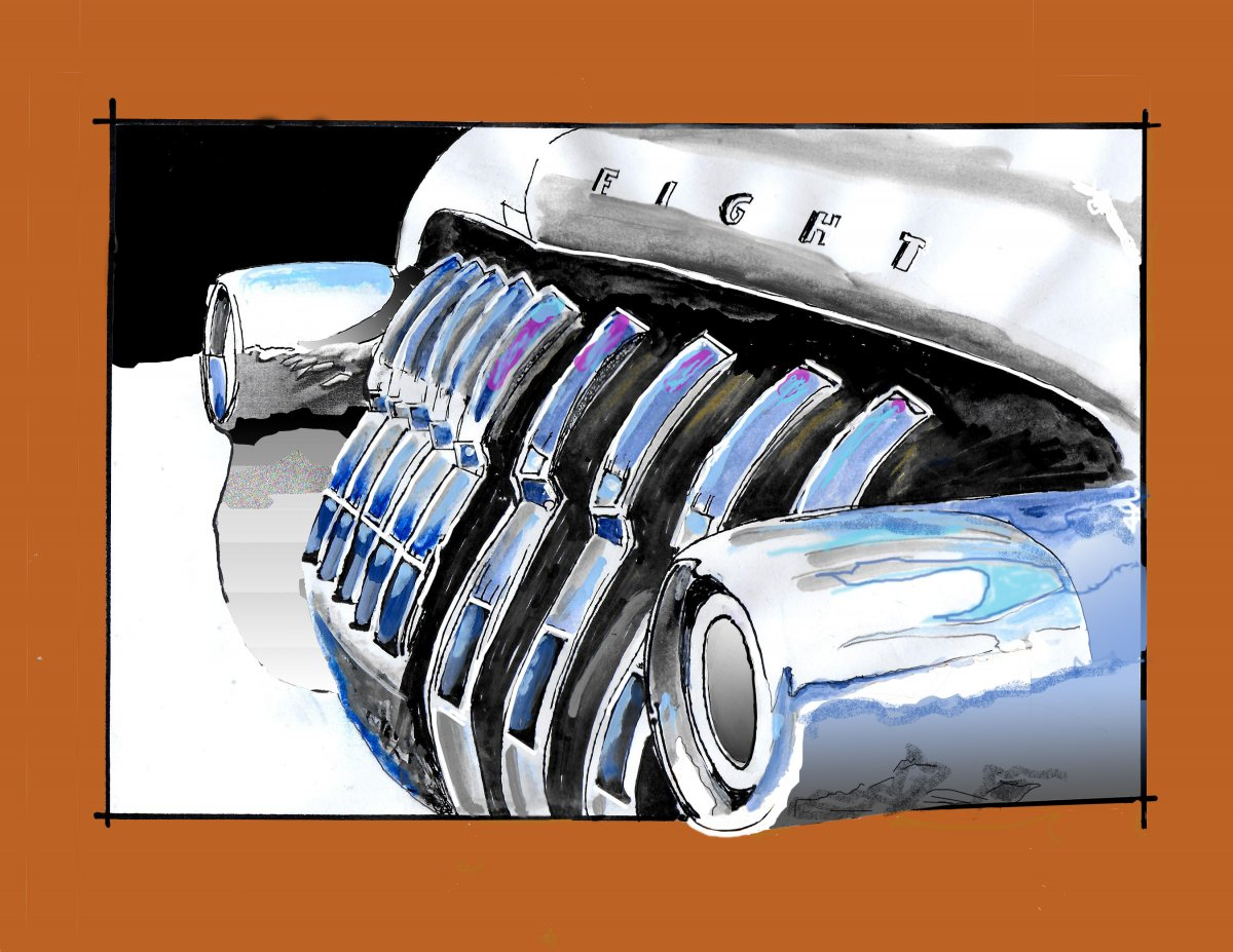50 BUICK GRILL SKETCH POSTER.jpg