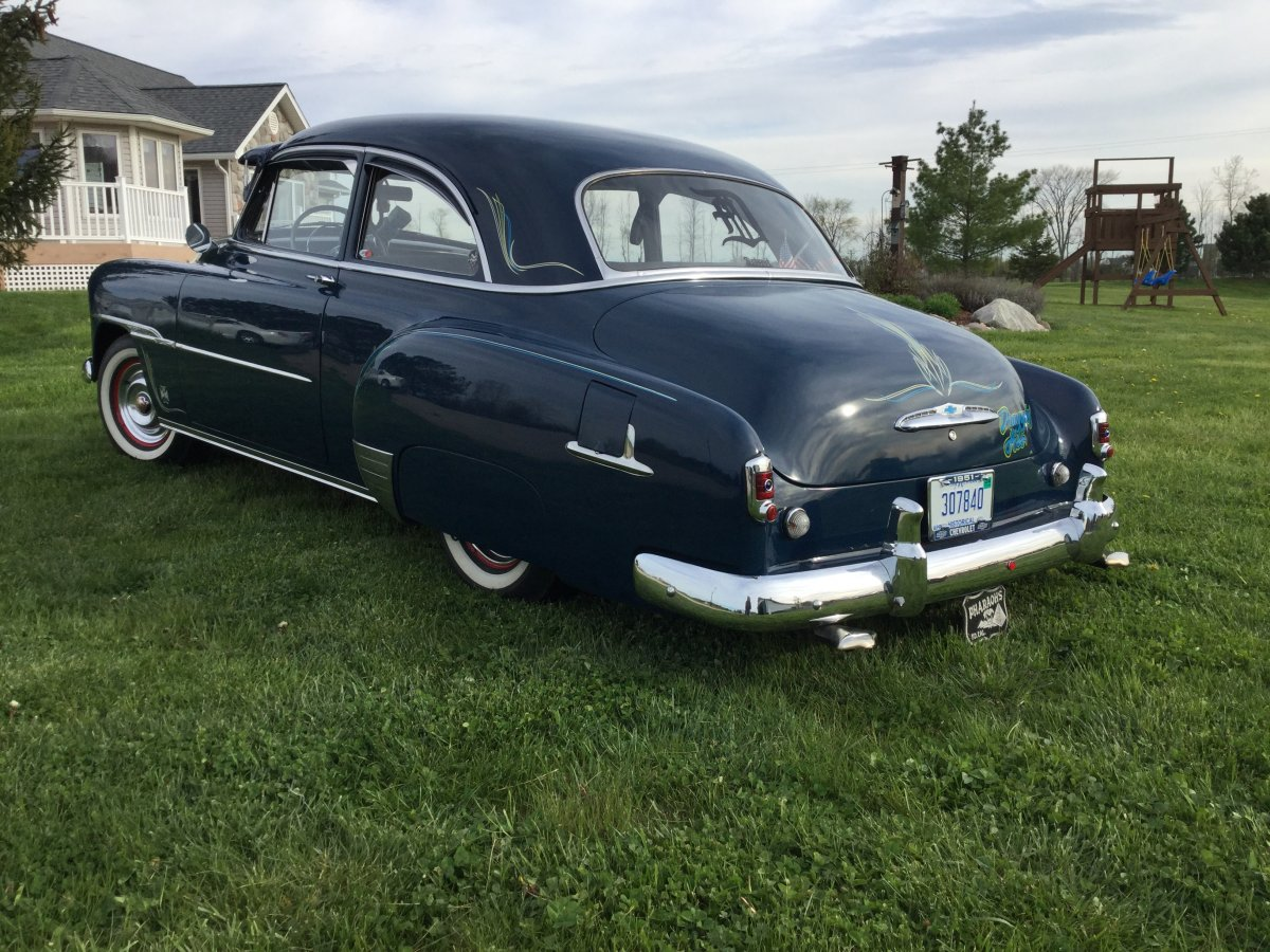 All Chevy 1951 chevy styleline deluxe : 1951 Chevy styleline deluxe Tail dragger. 6 cly stick, duel ...