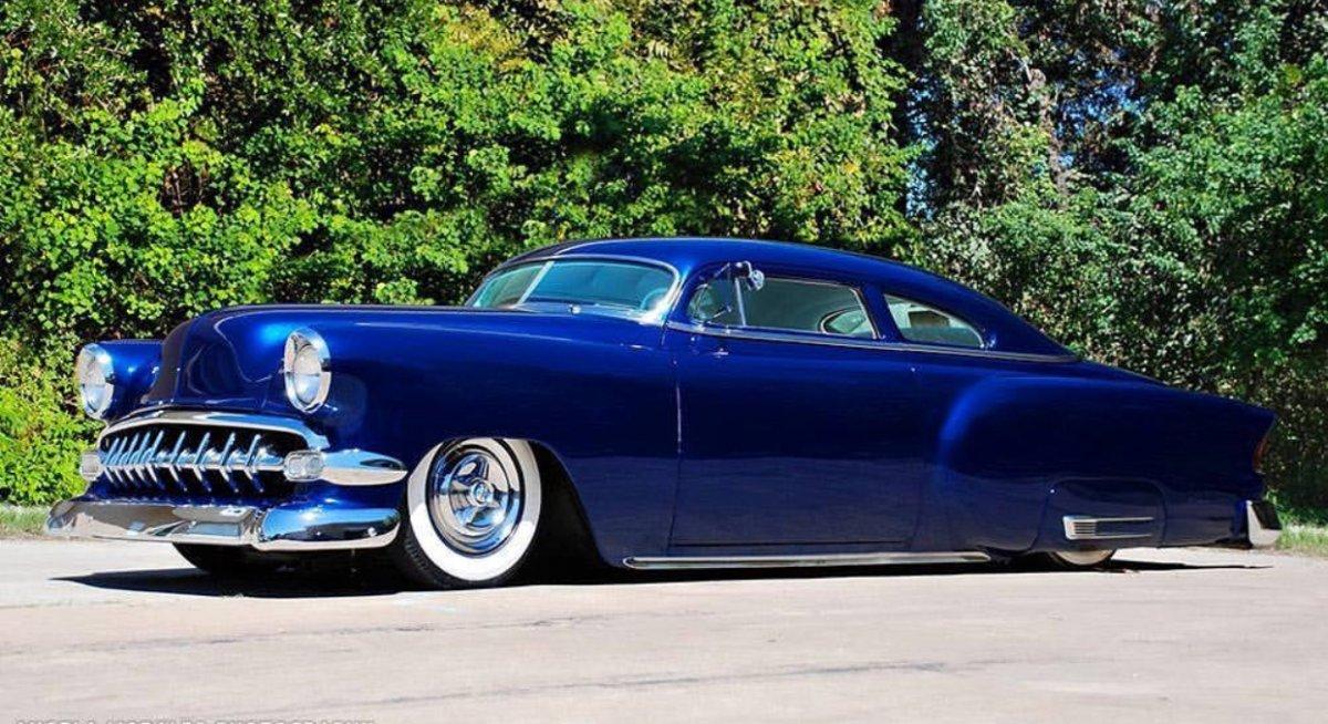 54 Chevy chpped blue.jpeg