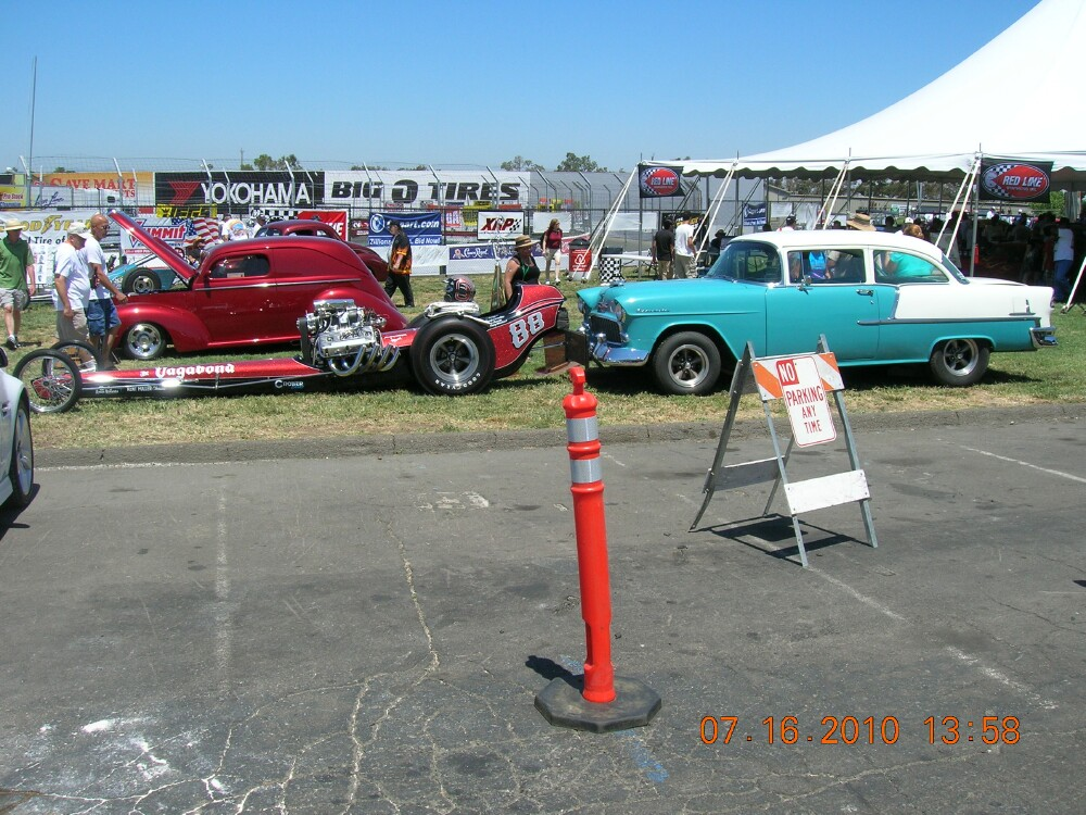 55 Chevy push car and dragster.jpg