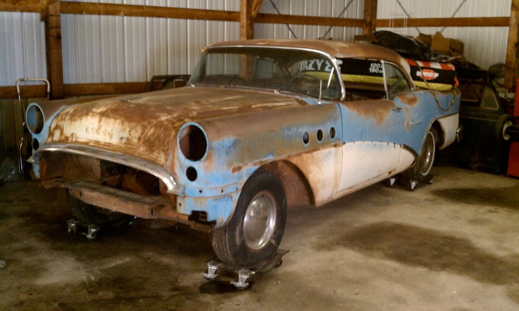 1955 Buick Special 2 Door Hardtop Parting Out The H A M B
