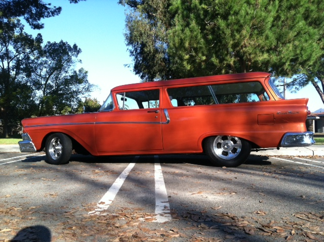 Art & Inspiration - How about a 1957-1958 Ford thread? | The H A M B