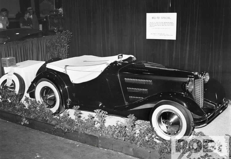 6 1953 Motorama held at the Pan-Pacific Auditorium in L.A.2 Jack Stweart's fully customized MG.JPG