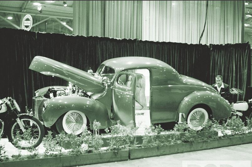 6 1953 Motorama held at the Pan-Pacific Auditorium in L.A.7 Earle Bruce sits behi.JPG