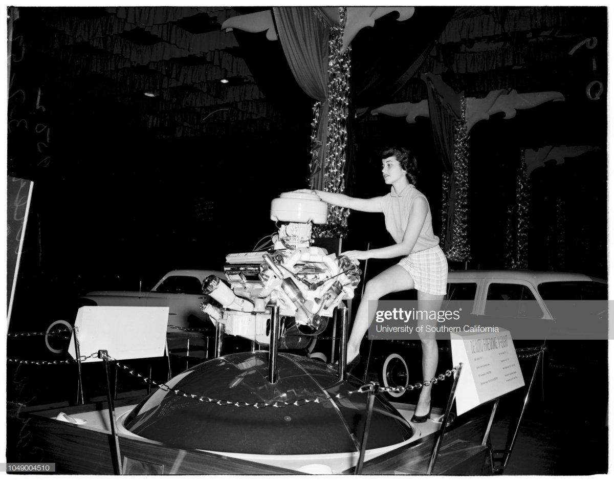 6 Automobile show at Pan-Pacific Auditorium, 1952c.jpg