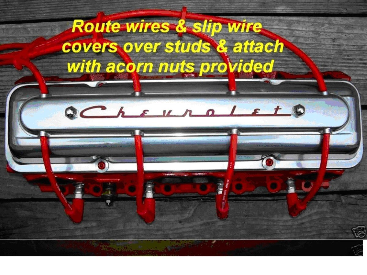 1949 1950 Oldsmobile Hot Rat Rod Spark Plug Wire Covers