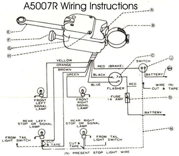 7 Wire Turn Signal Switch Wiring Diagram - Xbox Wiring Diagram for Wiring  Diagram Schematics | Turn Signal Wiring Diagram For 7 Wire |  | Wiring Diagram Schematics