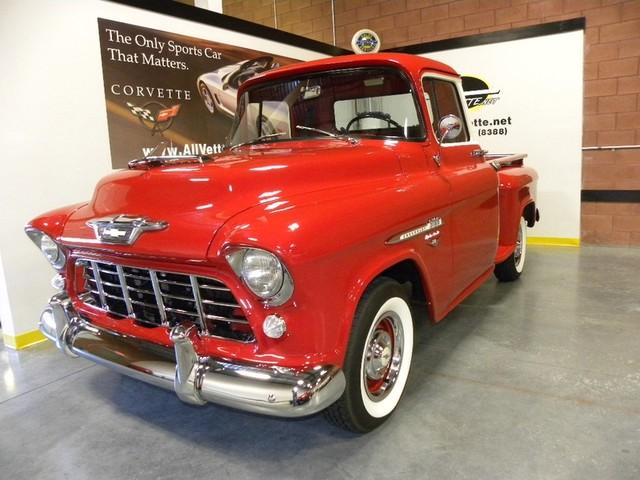 1955    Chevrolet    3100     Second       Series     Custom    Pickup      The H