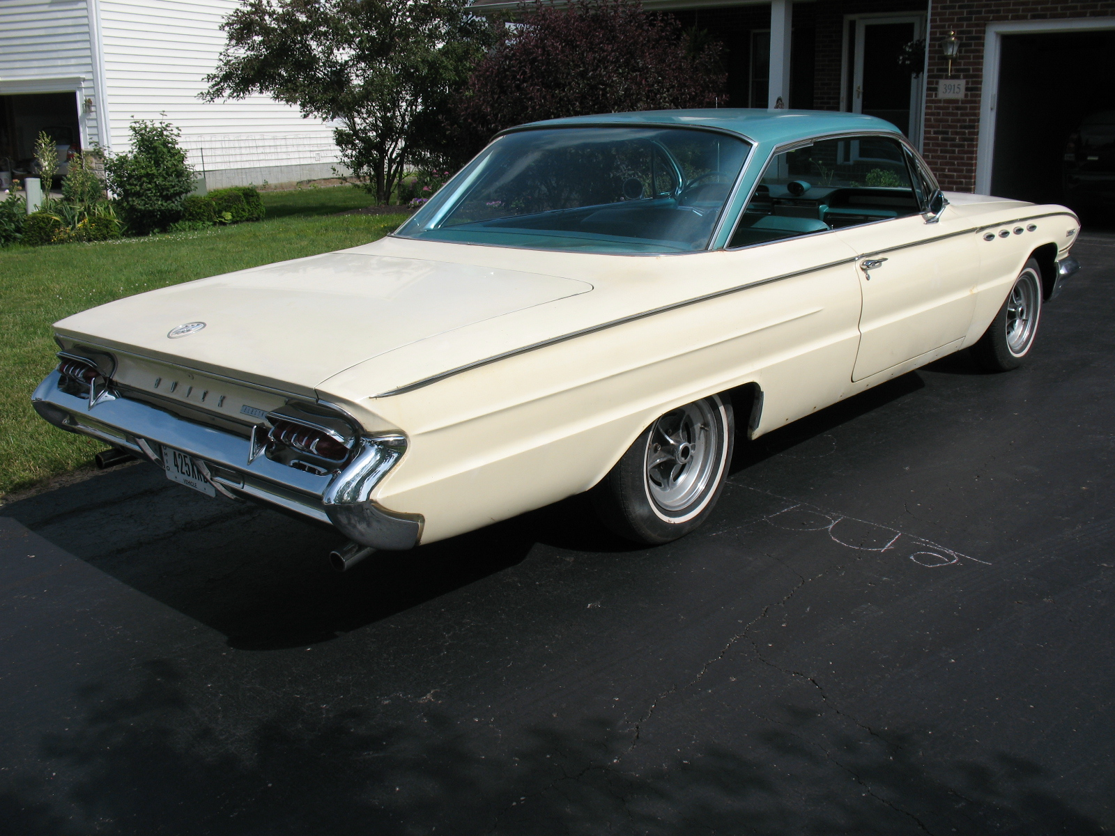 1961 Buick Electra 2 Door Hardtop The Hamb Convertible 61 008