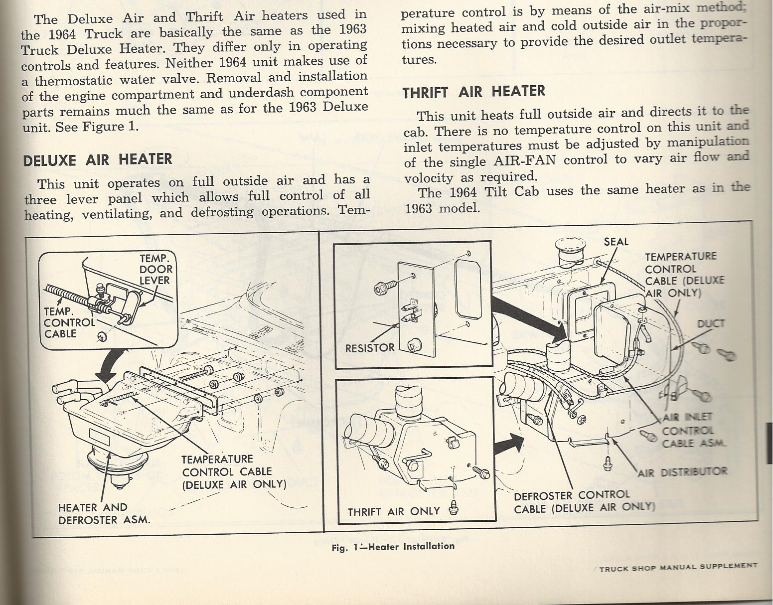 Wiring schematic for heater switch/blower resistor in '64-'66 Chevy C10? |  The H.A.M.B.  The Jalopy Journal